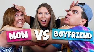 MOM VS. BOYFRIEND CHALLENGE!