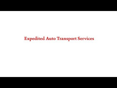 800-930-7417 | Expedited Auto Transport Services | American Auto Shipping
