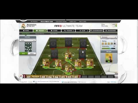 Fifa 13 120k hybrid squad builder | ft. Buffon, Lavezzi, Touré, Chiellini.