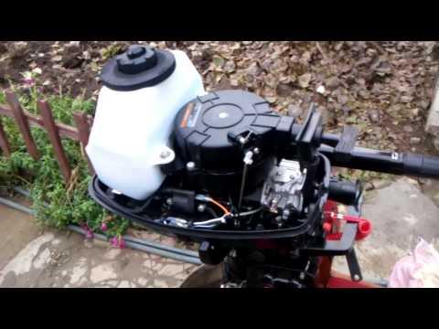 Лодочный мотор hangkai 5 ТО после покупки