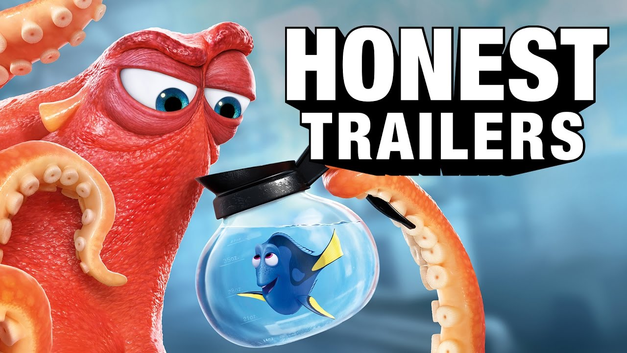 Honest Trailers Finds Dory And Rips Her A New One