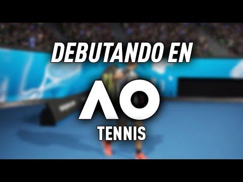 PROBANDO AO TENNIS! PRIMER JUEGO DE TENIS EN PS4/XB1!