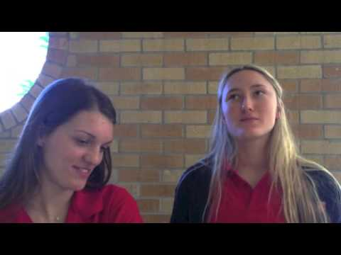 Sydney Davis, Hanna Rovira discuss legacy of St. Joseph's senior class
