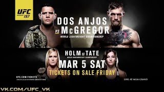 UFC 197: dos Anjos vs McGregor preview