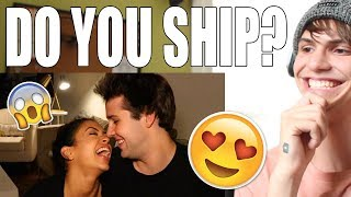 THIS VIDEO WILL MAKE YOU SHIP LIZA KOSHY AND DAVID DOBRIK!