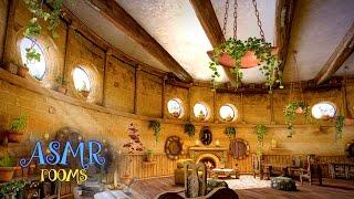 Harry Potter ASMR - Hufflepuff Common Room - Hogwarts School Ambience - 1 hour HD Cinemagraphs