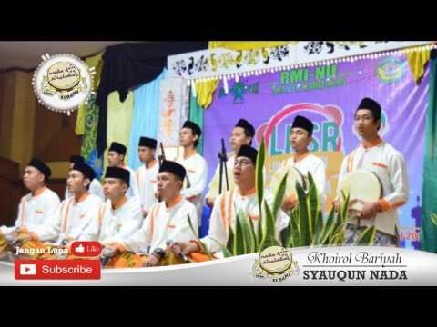 Festival LKSR 2017 : Grup Syauqun Nada Memukau Penonton di Ponpes Aswaja Semarang