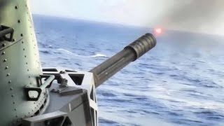 Phalanx CIWS Close In Weapons System • Live Fire Test