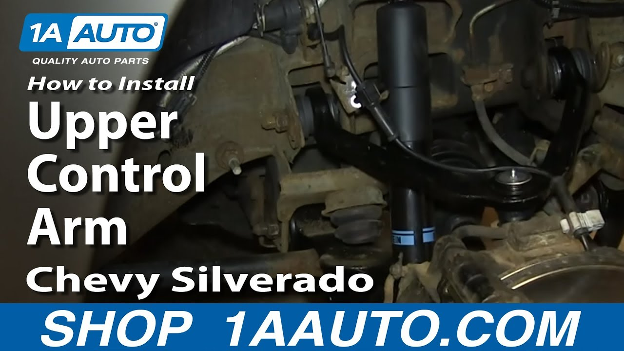 How To Install Replace Upper Control Arm 2000 06 Chevy