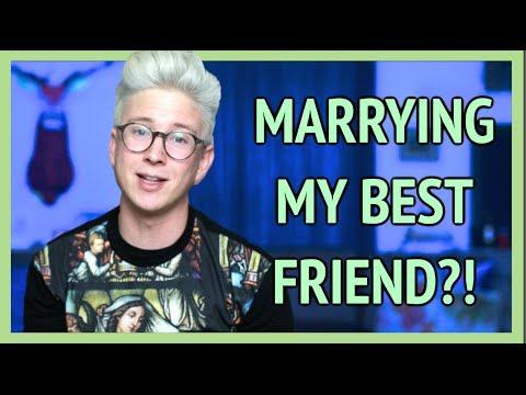 MARRYING MY BEST FRIEND | Tyler Oakley thumbnail