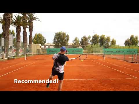 Playing with Roger Federer's Racquet Setup