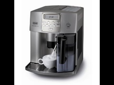 delonghi esam 3500 magnifica coffee machine youtube. Black Bedroom Furniture Sets. Home Design Ideas
