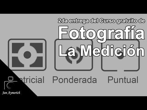 Curso gratuito de Fotografía Digital - 2da entrega La Medición