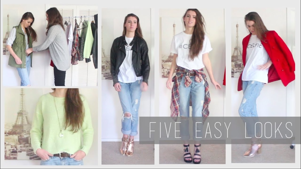 How To Wear Boyfriend Jeans Style Lookbook Youtube