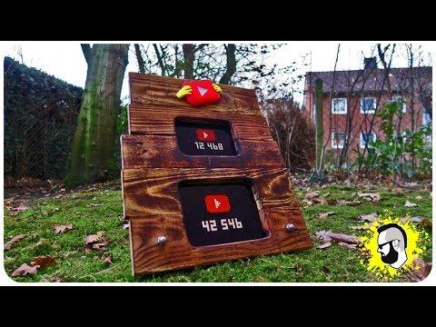 YouTube & Instagram ECHTZEIT COUNTER selber bauen [0,00 EUR]