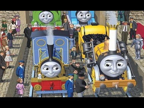 King of the Railway Book Illustrations! - HD