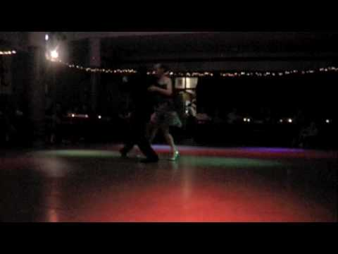 Nany Peralta y Rebecca O Laoire Fue Mi Salvacion - Edgardo Donato TangoLab en Villa Malcolm - Gracias a Santiago y el Indio My first experience of dancing a demo!