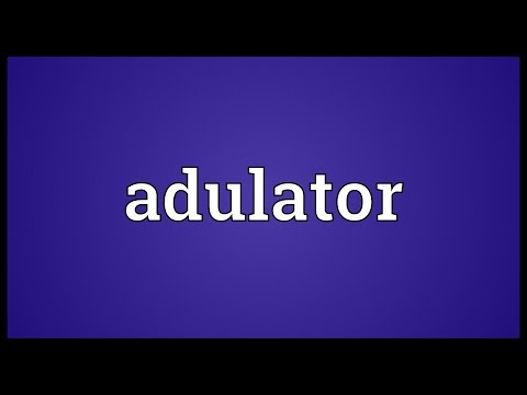 Header of Adulator