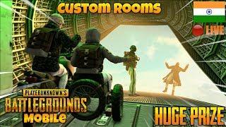 🔴Tournament Announcement  Custom Games 🔥  PUBG Mobile Live Stream India  Hindi 