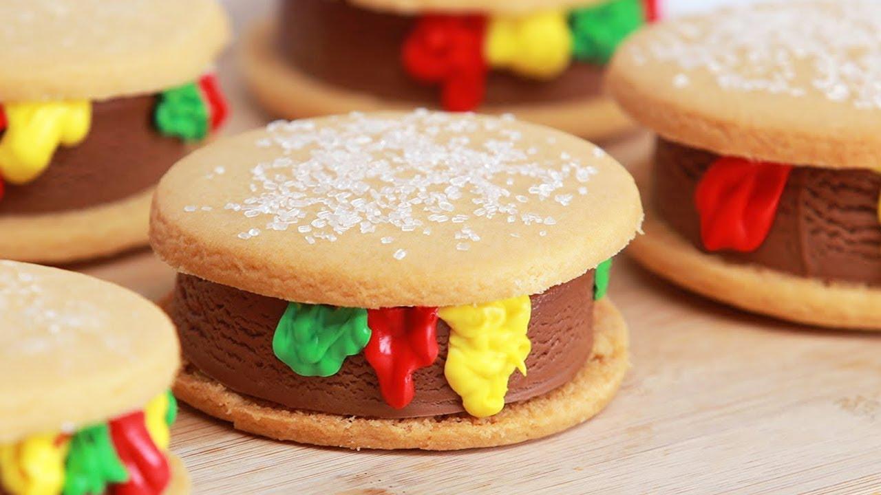 Nerdy Nummies Hamburger Cake Recipe