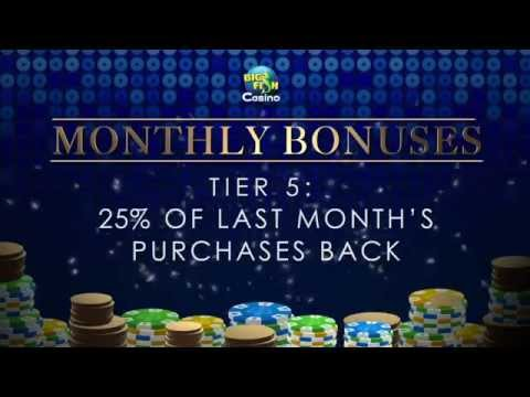 Big Fish Casino VIP Monthly Bonuses