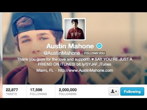 Congratulations Austin Mahone - Two Million Mahomies