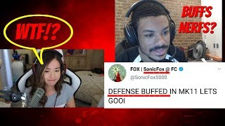 The FGC REACTS to MK11 Patches! & Streamer gets Boyfriend ABUSED!?