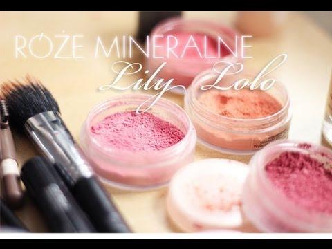 Róże Mineralne Lily Lolo, Recenzja + Rozdanie- Róże Dla Was:)