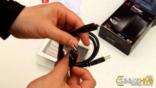 Iomega Prestige SuperSpeed USB 3.0 Portable Hard Drive  - Unboxing by www.geekshive.com
