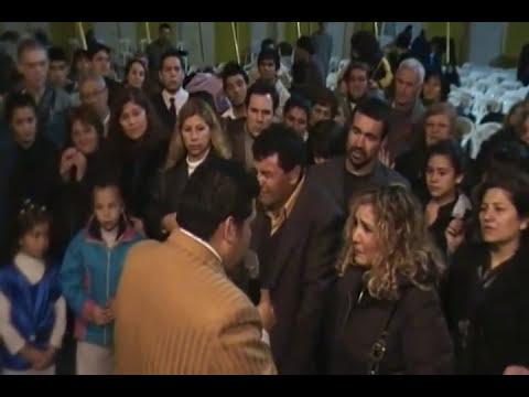 Profeta hernan acosta con los apóstoles Gallardo