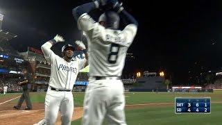 6/24/17: Sanchez's homer lifts Padres over Tigers