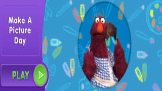 Sesame street Make a Picture Day with Telly