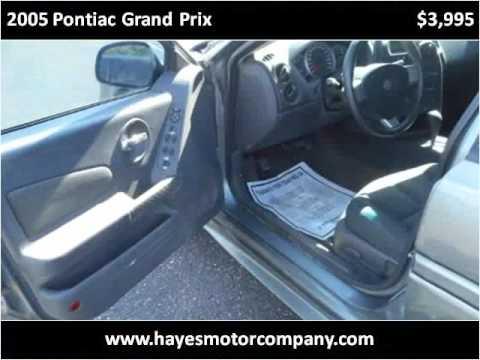 2005 Pontiac Grand Prix Used Cars Lubbock TX
