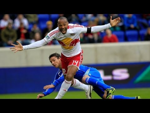 Thierry Henry scores hat trick in MLS action for New York