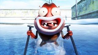 LARVA - ICE SKATING | Cartoon Movie| Cartoons For Children | Larva Cartoon | LARVA Official