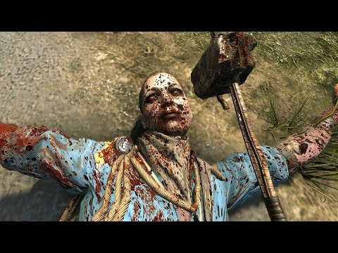 Dying Light Custom GOLD Weapons Rampage Part 2 Ultra GTX 980