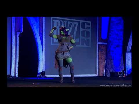 Blizzcon 2011 costume contest. FULL 40 minutes.