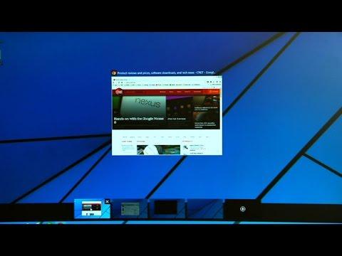 Take a look at virtual desktops in Windows 10