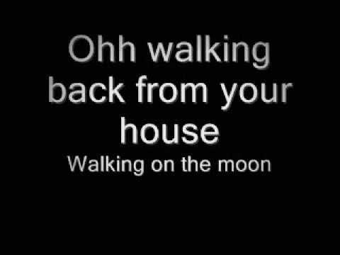 Cas Haley - Walking On The Moon + Lyrics! (HQ)