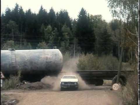 Автомобильная погоня из фильма Крестоносец 1995 год.