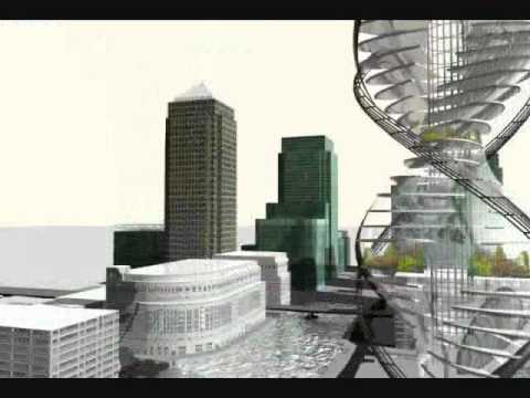 CTBUH 2008 Design Research, Andrew Chapman & George Christodoulou, Helical Tower