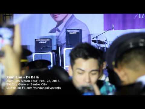 Xian Lim Live in SM City General Santos 2015 - Di Bale