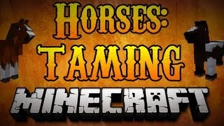 Minecraft Horses - How to Tame Horses Minecraft 1.7.2