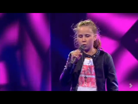 Isabella synger 'Turning Tables' - Voice Junior Danmark - Program 3 - Sæson 2