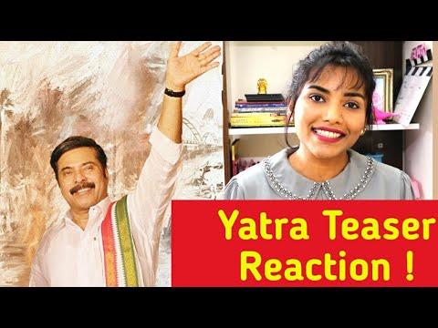 Yatra Movie Official Teaser (Telugu) | Mammootty | YSR Biopic | Reaction | The Mosh Box