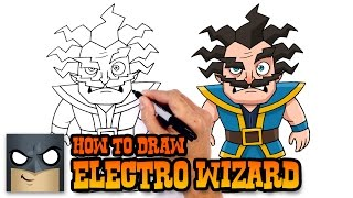 How to Draw Electro Wizard | Clash Royale