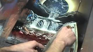 optical illusion custom spacepainting