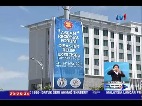 ASEAN REGIONAL FORUM DISASTER RELIEF DI ALOR SETAR [24 MEI 2015]