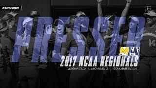 NCAA Regional Postgame Press Conference: Washington 4, Michigan 2