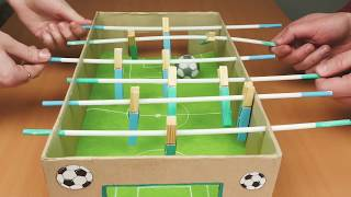Table football DIY  //  Home Craft